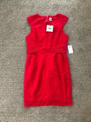 AU9.95 • Buy ASOS Ladies Lined Linen Dress. Brand New With Tags