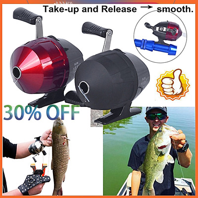 AU22.51 • Buy 1PCS Slingshot Fishing Reel Dart Bow Shooting Fish Throw Hunting Catapult Gear =