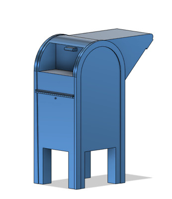 $6 • Buy N Scale Detail Parts - Drive Up Mailbox (Qty 2)