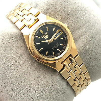 $ CDN35.05 • Buy Vintage Womens Seiko 5 4207-00w0 D/d 23mm Automatic Japan Made Wrist Watch B2022