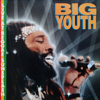 ID5660z-Big Youth-Live At Reggae Sunsp-VSLP 8905-vinyl LP-uk-m9s9 • 21.86£