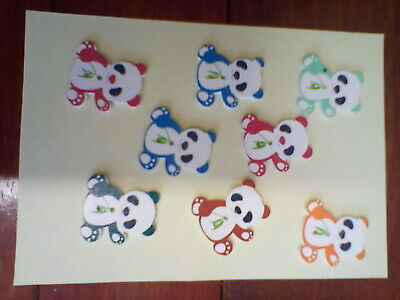 £2 • Buy  Wooden Buttons Animals  Fun Knitting Sewing Crocheting Craft