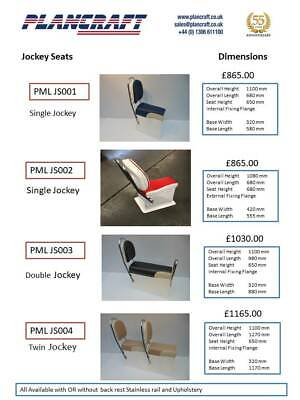 £1038 • Buy Quality GRP Jockey Seat RIB Boat Centre Console Made To Order PMLJS002
