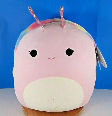 $ CDN59.90 • Buy Squishmallows Silvina The Pink Snail 16  Pillow Pet Plush Kellytoy New