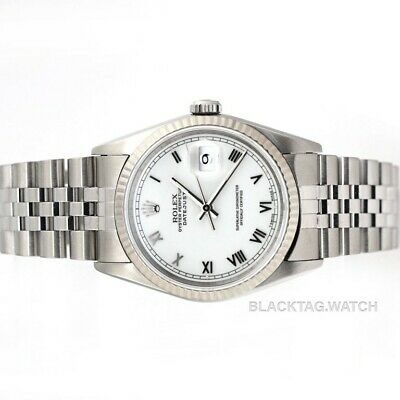 $ CDN6977.85 • Buy Rolex Datejust Oyster Perpetual Wristwatch 36mm 16234