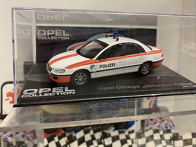 Opel Omega Model Car Polizei Police 1:43 Scale Ixo Collection Vauxhall K8 • 9.99£