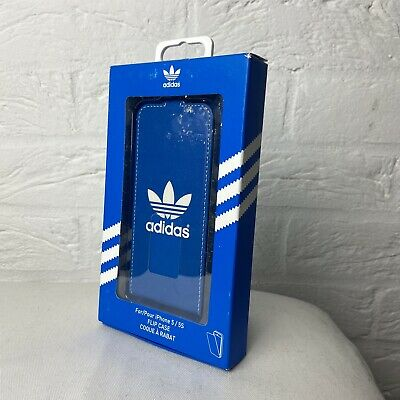 Brand New Adidas Flip Case For IPhone 5 / 5s Blue Faux Leather  • 9.99£