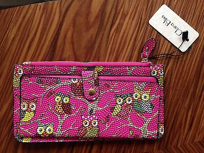 Women's / Girls Hot Pink Owl Wallet / Purse New With Label - Ideal Gift • 5£