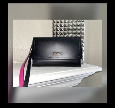 $ CDN12.63 • Buy Kate Spade Pink/Black Wallet/Crossbody Bag