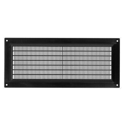 £5.69 • Buy Black Air Vent Grille 300mm X 130mm Flat Louvre Duct Ventilation Cover