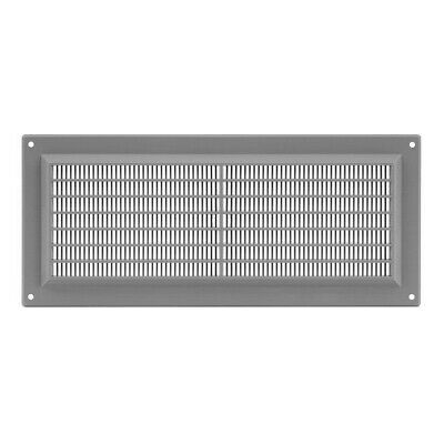 £5.69 • Buy Grey Air Vent Grille 300mm X 130mm Flat Louvre Duct Ventilation Cover