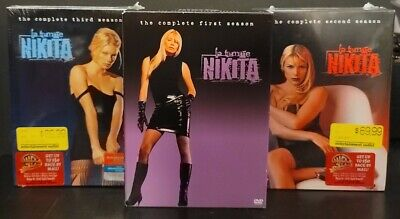 La Femme Nikita The Complete Series Seasons 1-3 DVD Sets New Sealed 1 2 3 • 72.35£