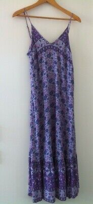 AU400 • Buy Spell Designs Lavender KOMBI Strappy Sundress  XS And Matching Bralette S