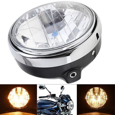 AU50.25 • Buy 7 Inch 12V 35W General Motorcycle Headlight Round Shape LED Compatible With CB