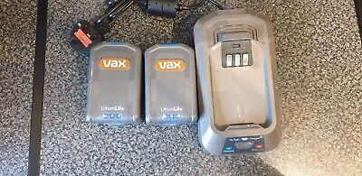 Vax Cordless Vacuum Cleaner Batteries X 2  And X 1 Battery Charger • 12.20£
