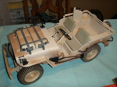$ CDN37.87 • Buy 1:6 GI Joe Adventure Team Desert Jeep 1941 Willy's Hasbro 2002 Machine Guns Tank