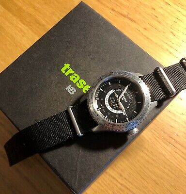 £500 • Buy Traser H3 Watch Classic Automatic Master UTC Silicon