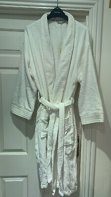 John Rocha White Dressing Gown - Size Medium • 36.95£