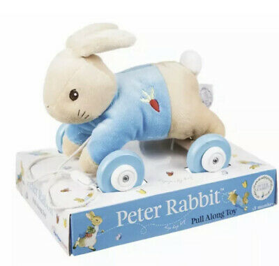Peter Rabbit The Movie Baby Pull Along Toy High Quality • 12.99£