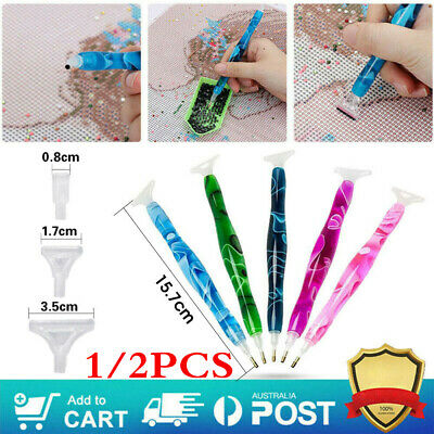 AU8.95 • Buy 5D DIY Diamond Embroidery Tool Resin Diamond Painting Pen Stylus Drill Nail Art
