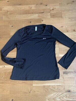 Women's Under Armour Long-Sleeved Base Layer, Size Small • 7.99£