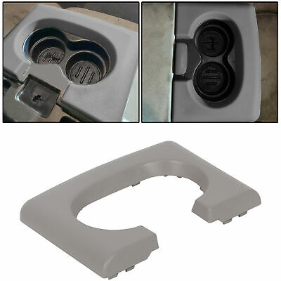 $21.25 • Buy Center Console Cup Holder Pad Replacement Grey Gray For Ford F150 2004-14