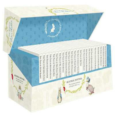 £34.97 • Buy The World Of Peter Rabbit Childrens Collection 23 Books Box Set Beatrix Potter