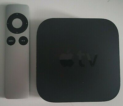AU108.20 • Buy Apple TV 3rd Gen With Remote, Power Cable And HDMI Cable