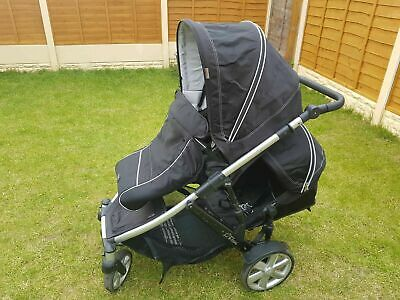 Britax B-Dual Double/single Pushchair/buggy With Accessories, Great Condition • 85£