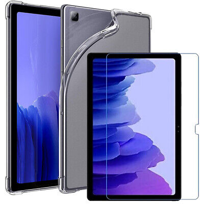 £6.94 • Buy Samsung Galaxy Tab A7 10.4  T500 T505 2020 Gel Case Tempered Glass Tablet Cover