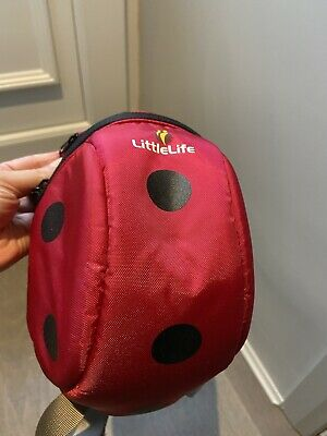 Little Life Ladybird Toddler Backpack With Reins / Parent Handle • 3.99£
