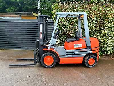 £6850 • Buy Toyota 2.5 Ton Diesel Counterbalance Forklift Truck/Container Specification Mast