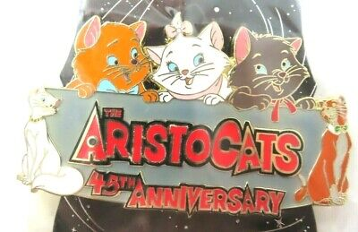 $ CDN120.53 • Buy Disney Pin WDI - The Aristocats 45th Anniversary  LE 250 AS IS #113538