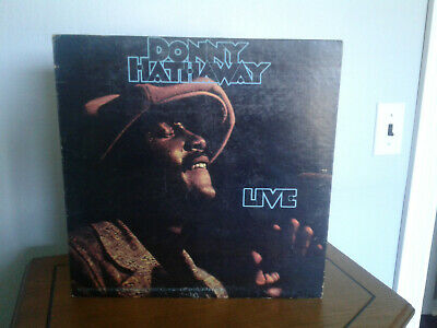 1972  Donny Hathaway Live  12  Vinyl LP 33 Recorded Live In Hollywood & New York • 14.46£