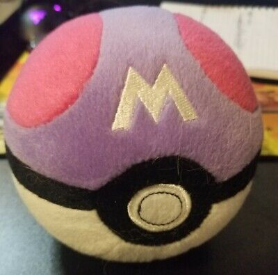 Master Ball Pokemon Plush TOMY Pokeball • 3.62£