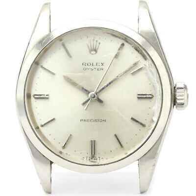 $ CDN2245.54 • Buy Vintage ROLEX Oyster Precision 6426 Steel Hand-Winding Mens Watch BF526851