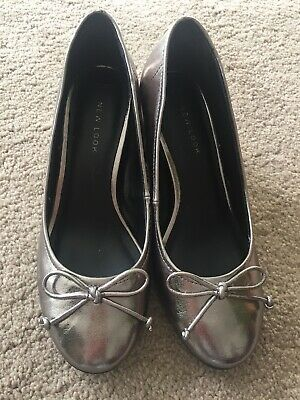 New 'new Look' Pewter Shoes, Size 3 • 4.99£