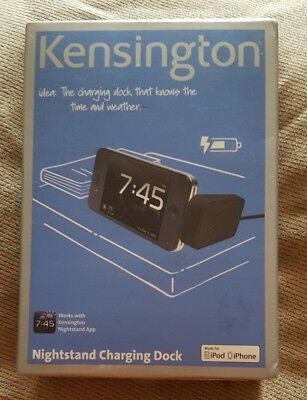 Kensington K39258EU Nightstand Charging Dock IPhone 3/4/S IPod • 5£