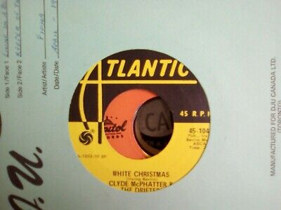 £7 • Buy Clyde Mcphatter And The Drifters White Christmas