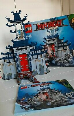 70617 Temple Of The Ultimate Weapon Lego 100% Complete Retired Set Ninjago • 22.80£
