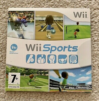 Wii Sports Game - Cardboard Sleeve - Very Good Condition • 3.70£