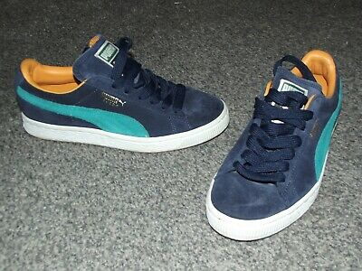 AU12.62 • Buy Ladies Puma Suede Trainers Uk Size 3  Great Condition Must See !!!