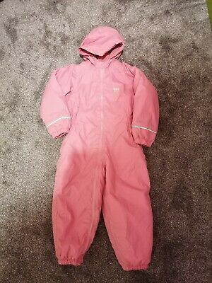 Girls Regatta Waterproof Snow Suit 3-4 • 3.70£