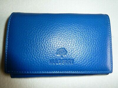 AU18.03 • Buy Leather Purse - Blue - New - Unwanted Gift