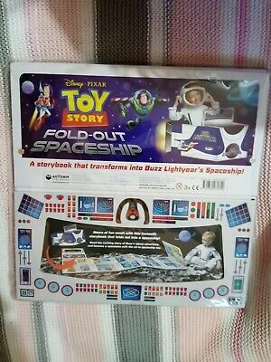 RRP £19.99 Toy Story Fold Out & Sit Inside Storybook Buzz Lightyear's Spaceship  • 7£