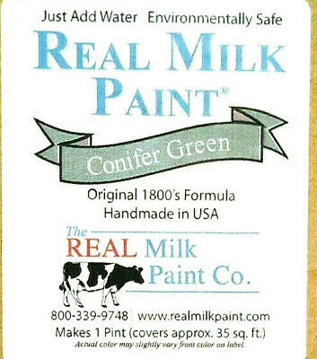$7.29 • Buy The Real  Milk Paint Co. Powder CONIFER GREEN Makes 16 Oz