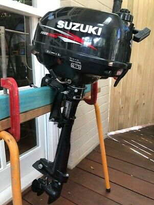 AU500 • Buy Suzuki DF2.5 Four Stroke Outboard Motor. As New.