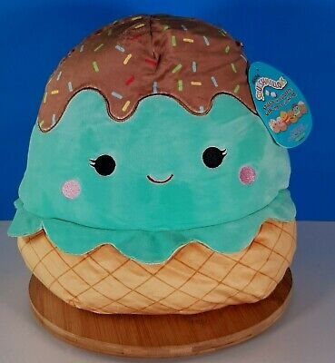 $ CDN59.90 • Buy Squishmallows Maya The Mint Ice Cream Cone 12  Kellytoy Food Squad 2020 New