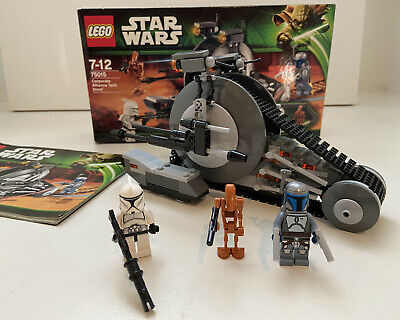 AU99 • Buy LEGO 75015 Star Wars Corporate Alliance Tank Droid - Excellent As New