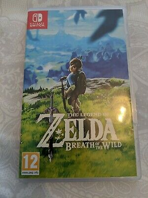 AU75.74 • Buy The Legend Of Zelda Breath Of The Wild CARTRIDGE ONLY NO BOX